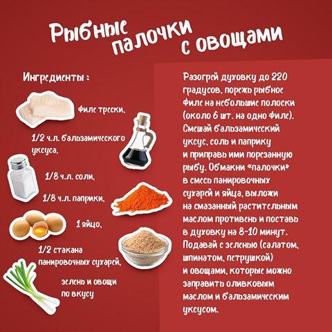Рецепты для быстрого ужина...